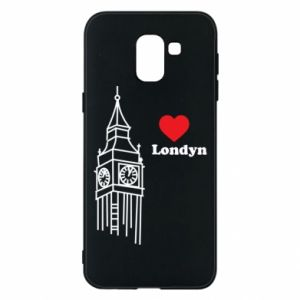 Etui na Samsung J6 Londyn, kocham cię