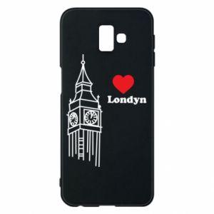Etui na Samsung J6 Plus 2018 Londyn, kocham cię