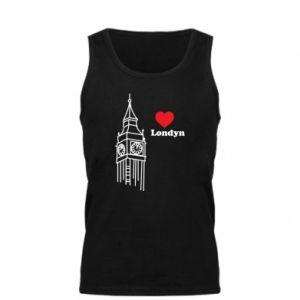 Męska koszulka Londyn, kocham cię
