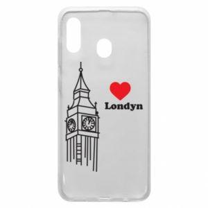 Etui na Samsung A20 Londyn, kocham cię