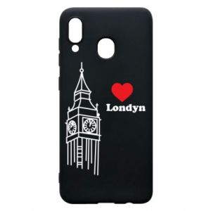 Etui na Samsung A30 Londyn, kocham cię