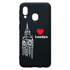 Etui na Samsung A40 Londyn, kocham cię