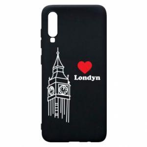 Etui na Samsung A70 Londyn, kocham cię