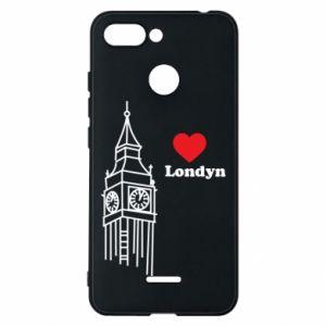 Etui na Xiaomi Redmi 6 Londyn, kocham cię