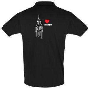 Koszulka Polo Londyn, kocham cię