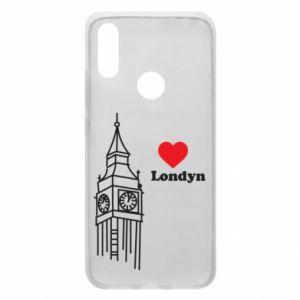Etui na Xiaomi Redmi 7 Londyn, kocham cię