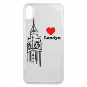 Etui na iPhone Xs Max Londyn, kocham cię