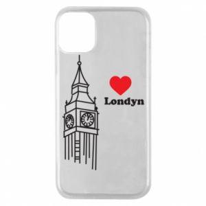 Etui na iPhone 11 Pro Londyn, kocham cię