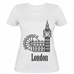 Women's t-shirt Inscription: London