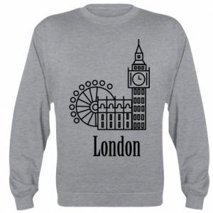 Bluza (raglan) Napis: London - PrintSalon