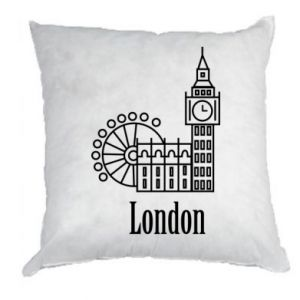 Poduszka Napis: London - PrintSalon