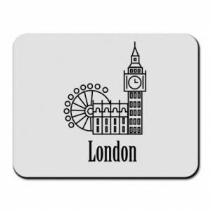 Podkładka pod mysz Napis: London - PrintSalon