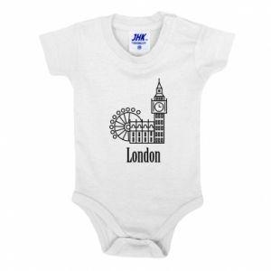 Body dla dzieci Napis: London - PrintSalon
