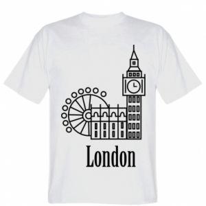 Koszulka Napis: London - PrintSalon