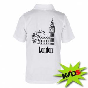 Children's Polo shirts Inscription: London