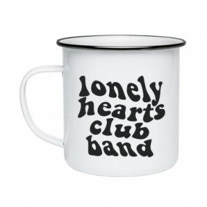 Kubek emaliowane Lonely hearts club band