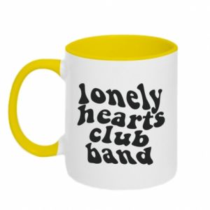 Kubek dwukolorowy Lonely hearts club band