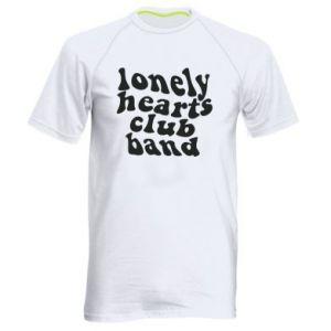 Męska koszulka sportowa Lonely hearts club band
