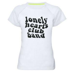 Damska koszulka sportowa Lonely hearts club band