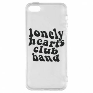 Etui na iPhone 5/5S/SE Lonely hearts club band
