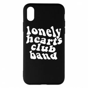 Etui na iPhone X/Xs Lonely hearts club band