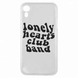 Etui na iPhone XR Lonely hearts club band