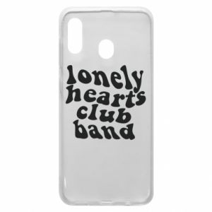 Etui na Samsung A20 Lonely hearts club band