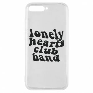 Etui na Huawei Y6 2018 Lonely hearts club band