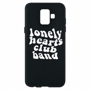 Etui na Samsung A6 2018 Lonely hearts club band