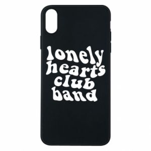 Etui na iPhone Xs Max Lonely hearts club band