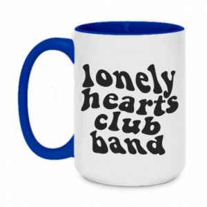Kubek dwukolorowy 450ml Lonely hearts club band