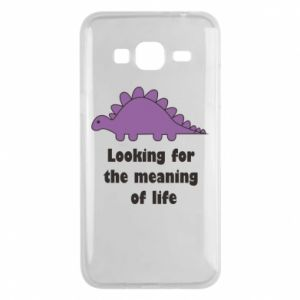 Etui na Samsung J3 2016 Looking for the meaning of life