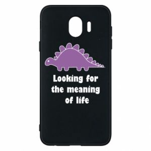 Etui na Samsung J4 Looking for the meaning of life
