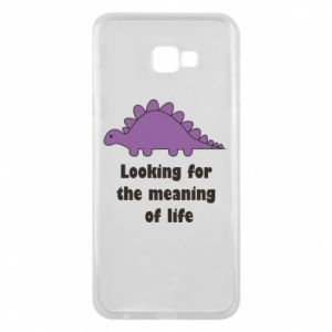 Etui na Samsung J4 Plus 2018 Looking for the meaning of life