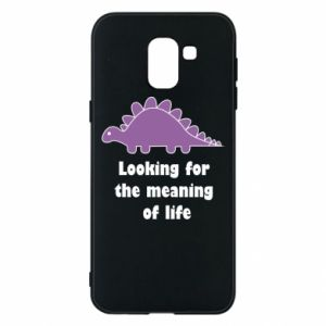 Etui na Samsung J6 Looking for the meaning of life