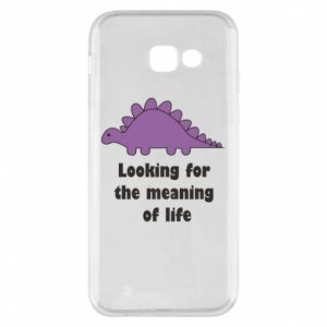 Etui na Samsung A5 2017 Looking for the meaning of life