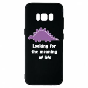 Etui na Samsung S8 Looking for the meaning of life