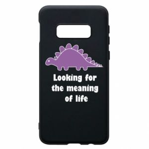 Etui na Samsung S10e Looking for the meaning of life