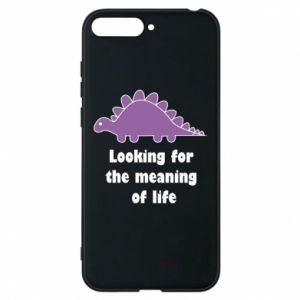 Etui na Huawei Y6 2018 Looking for the meaning of life