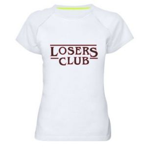 Damska koszulka sportowa Losers club