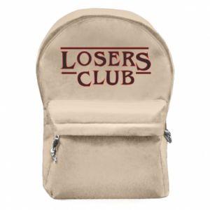 Plecak z przednią kieszenią Losers club