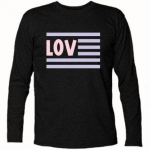 Koszulka z długim rękawem Lov