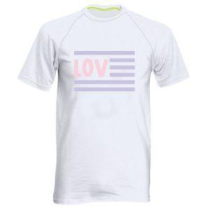 Koszulka sportowa męska Lov