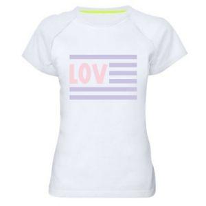 Koszulka sportowa damska Lov