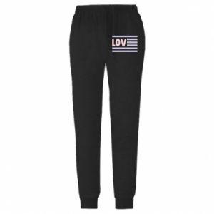 Spodnie lekkie męskie Lov