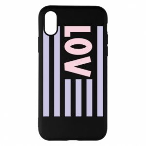 Etui na iPhone X/Xs Lov