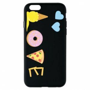 Etui na iPhone 6/6S Love any food