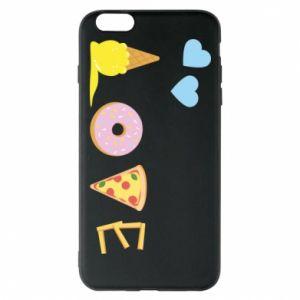 Etui na iPhone 6 Plus/6S Plus Love any food
