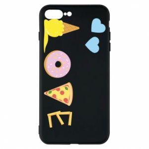 Etui na iPhone 7 Plus Love any food