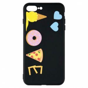 Etui na iPhone 8 Plus Love any food